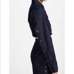 Susana Monaco dark denim jacket